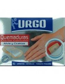 URGO QUEMADURAS 5X7CM 6 APOSI INDIVI