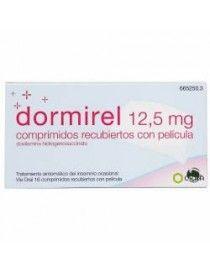 DORMIREL 12.5 MG 16 COMPRIMIDOS RECUBIERTOS
