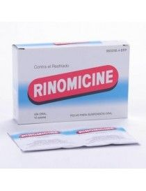 RINOMICINE SOBRES 10 SOBRES POLVO SUSPENSION ORAL