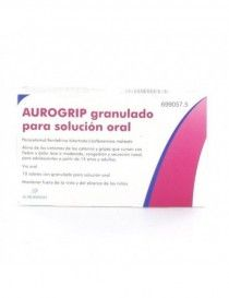 AUROGRIP 10 SOBRES GRANULADO SOLUCION ORAL