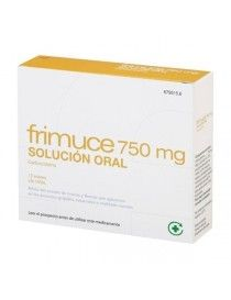 FRIMUCE 750 MG 12 SOBRES SOLUCION ORAL 15 ML