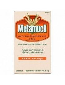 METAMUCIL 3.26 G 30 SOBRES POLVO SUSPENSION ORAL