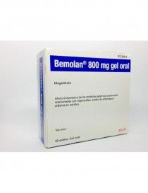 BEMOLAN 800 MG 30 SOBRES GEL ORAL