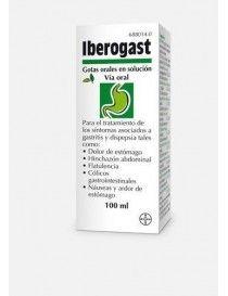 IBEROGAST GOTAS ORALES SOLUCION 1 FRASCO 100 ML
