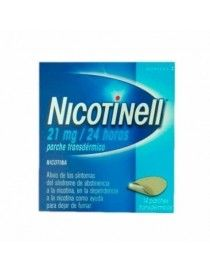 NICOTINELL 21 MG/24 H 7 PARCHES TRANSDERMICOS 52.5 MG
