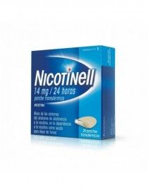 NICOTINELL 14 MG/24 H 28 PARCHES TRANSDERMICOS 35 MG