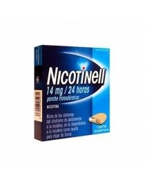 NICOTINELL 14 MG/24 H 7 PARCHES TRANSDERMICOS 35 MG
