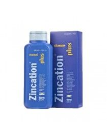 ZINCATION PLUS 10/4 MG/ML CHAMPU MEDICINAL 500 ML