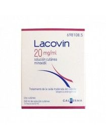 LACOVIN MINOXIDIL 20 MG/ML SOLUCION CUTANEA 4 FRASCOS 60 ML