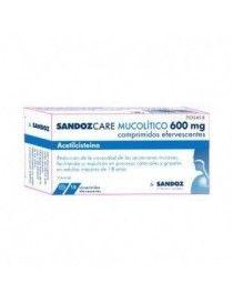 SANDOZCARE MUCOILITICO EFG 600 MG 10 COMPRIMIDOS EFERVESCENTES