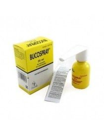 BUCOSPRAY AEROSOL TOPICO 25 ML