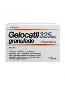 GELOCATIL 325 MG 12 SOBRES GRANULADO ORAL