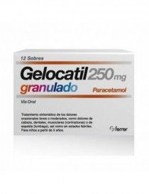 GELOCATIL 250 MG 12 SOBRES GRANULADO ORAL