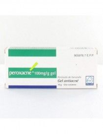 PEROXACNE 100 MG/G GEL TOPICO 30 G