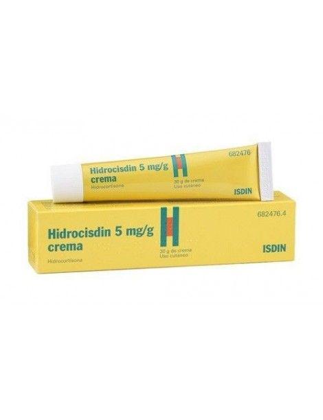 HIDROCISDIN 5 MG/G CREMA 1 TUBO 30 G