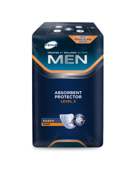 TENA FOR MEN LEVEL 3 16 UNDADES