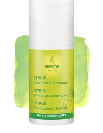 FRESH 24 H DESODORANTE CITRUS ROLL ON 50 ML WELEDA