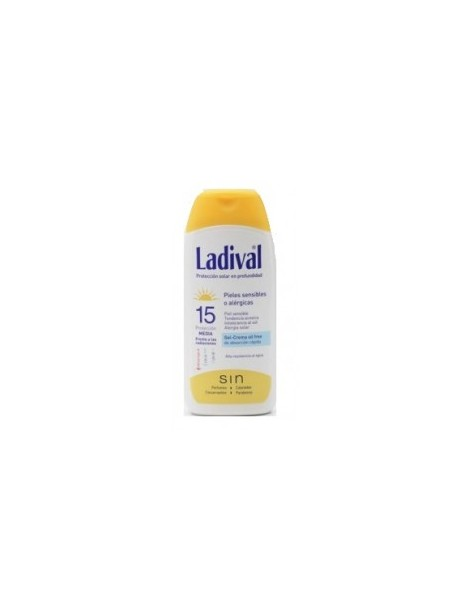 LADIVAL ALLERGY FPS 15 GEL CREMA 200 ML