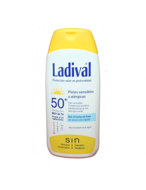 LADIVAL ALLERGY FPS 50+ GEL CREMA 200 ML