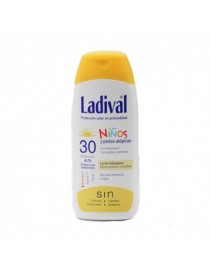 LADIVAL NIÑOS FPS 30 LECHE 200 ML