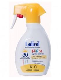 LADIVAL NIÑOS FPS 30 SPRAY LECHE 200 ML