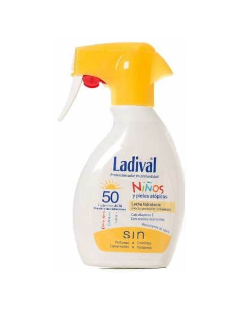 LADIVAL NIÑOS SPF 50 SPRAY 200 ML