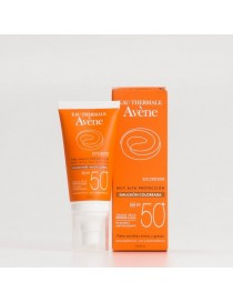 EMULSION AVENE 50+ COLOR SIN PERFUME 50 ML