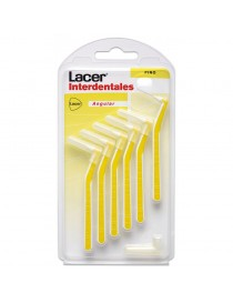 CEPILLO LACER INTERDENTAL FINO ANGULAR 6 UNIDADES
