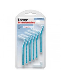 CEPILLO LACER INTERDENTAL CONICO ANGULAR 6 UNIDADES