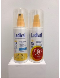 DUPLO LADIVAL PIEL SENSIBLE FPS 30 SPRAY 2ª UNID 50%