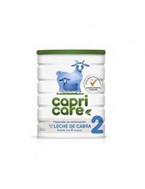 capricare 2 preparado lactantes 6º mes leche cabra 800g