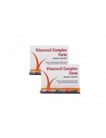 VITACRECIL COMPLEX FORTE DUPLO 180 CÁPSULAS 90 + 90