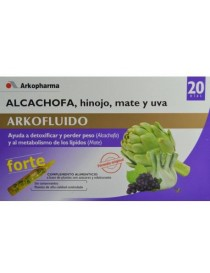 ARKOFLUIDO ALCACHOFA FORTE 20 UNID 15 ML