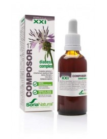COMPOSOR 17 DIABESIL COMP 50ML XXI SORIA