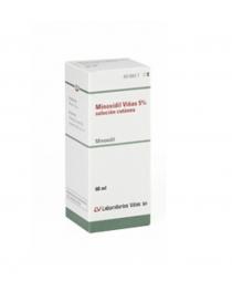 MINOXIDIL VIÑAS 50 MG/ML SOLUCION CUTANEA 1 FRASCO 60 ML